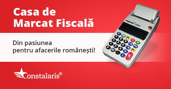 Casă de marcat fiscală - Constalaris SRL - Bucureşti